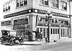 c.1923 ANAHEIM California GERRARD/HANSON GROCERY Photo (Image1)