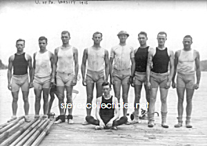 1915 U of PA Varsity Rowing TEAM Photo - GAY INTEREST (Image1)