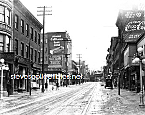 1920 COCA COLA Advertis. YONKERS, NY Streetscene Photo (Image1)