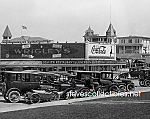 1922 ASBURY PARK - COCA COLA Advertising Photo B (Image1)