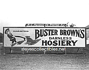 c.1916 W Morrisville, PA BUSTER BROWN Advertising Photo (Image1)
