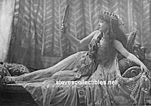 c.1891 LILLY LANGTRY as Cleopatra  - GLAMOUR PHOTO (Image1)