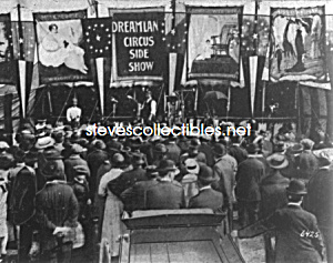 C.1923 Sideshows At The Danbury Fair, Conn. - Photo