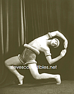 c.1915 TED SHAWN DANCE Photo - GAY INTEREST - 5x7 (Image1)