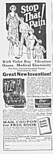 1928 LINDSTROM Electric Vibrator QUACK Ad (Image1)