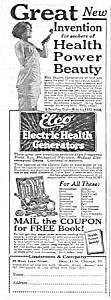 1926 ELCO Electric Vibrator QUACK Ad (Image1)