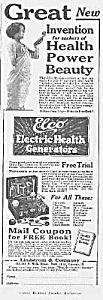 1923 ELCO Electric Vibrator QUACK Ad (Image1)