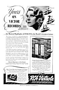 1939 RCA VICTROLA Magazine Ad (Image1)