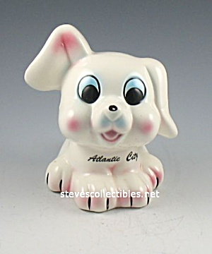 Cutest PUPPY Pottery TOY BANK (Image1)