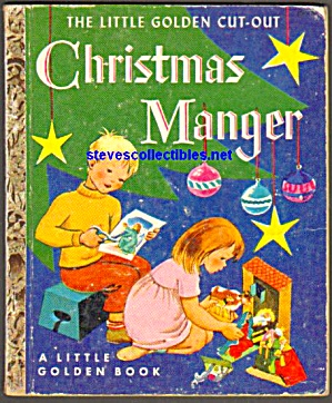 Christmas Manger Little Golden Cut-out Book