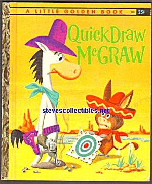 Quick Draw Mcgraw - Little Golden Book