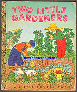 Two Little Gardeners Little Golden Book - 1951