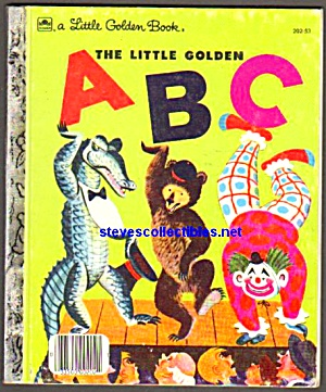 Little Golden Abc Book Little Golden Book