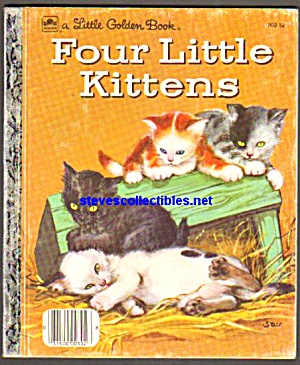 Four Little Kittens - Little Golden Book