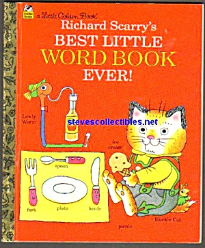 Richard Scarrys Best Little Word Little Golden Book
