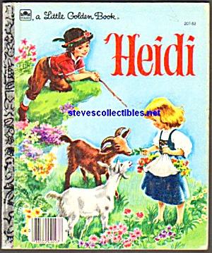 HEIDI - Little Golden Book - Malvern (Image1)