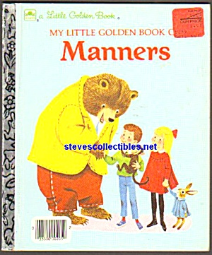 Little Golden Book Of Manners -1962 - Scarry