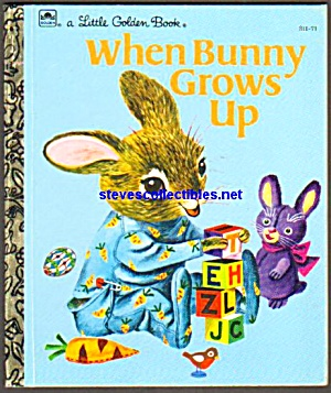 When Barney Grows Up - Little Golden Book