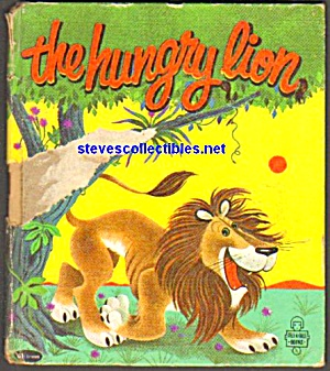 THE HUNGRY LION TELL-A-TALE BOOK 1960 (Image1)