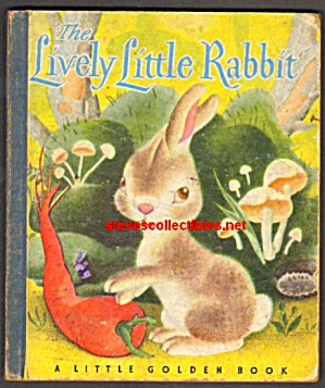 LITTLE LIVELY RABBIT - Little Golden Book  - 1943 (Image1)