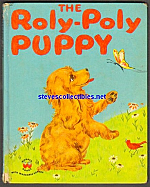 The Roly-poly Puppy - Wonder Book 1950