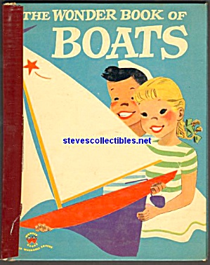 Wonder Book Of Boats - 1953