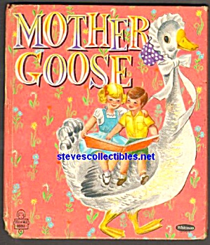 MOTHER GOOSE Whitman Tell A Tale Book (Image1)