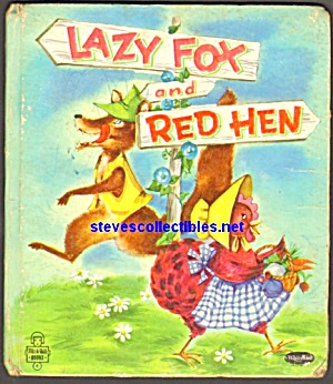 LAZY FOX AND RED HEN- Tell-A-Tale Book (Image1)