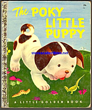 THE POKY LITTLE PUPPY - Little Golden Book (Image1)