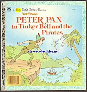 PETER PAN IN TINKERBELL AND THE PIRATES-Golden Book (Image1)