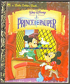 Disney The Prince And The Pauper Little Golden Book