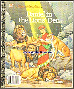 Daniel In The Lion's Den - Little Golden Book
