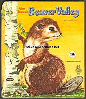 Walt Disney's BEAVER VALLEY Tell-A-Tale Book (Image1)