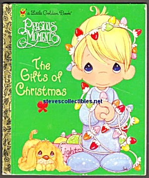 Precious Moments The Gifts Christmas Little Golden Book