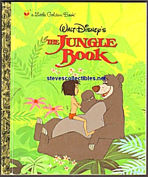 JUNGLE BOOK A First Edition - Little Golden Book (Image1)