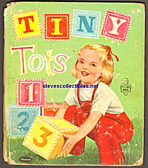 Tiny Tots 123 - Tell-a-tale Book -1958