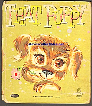 THAT PUPPY Fuzzy Wuzzy Tell a Tale Book (Image1)