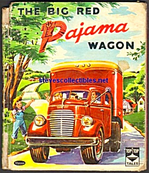 BIG RED PAJAMA WAGON - Top Top Tales Book - 1959 (Image1)