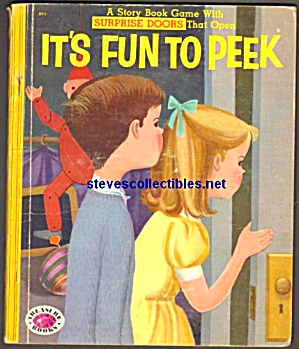 IT'S FUN TO PEEK Treasure Book 1955 (Image1)