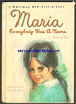 Maria Everybody Has A Name- Whitman Big Tell A Tale Bk