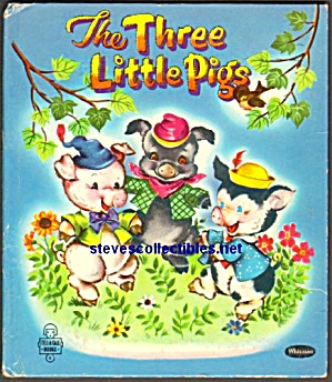 THE THREE LITTLE PIGS - Tell-A-Tale Book 1953 (Image1)