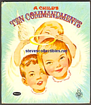 A Child's 10 Commandments - Tell-a-tale Book