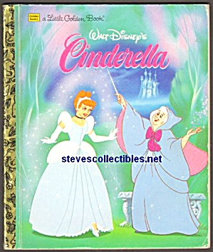 Walt Disney CINDERELLA - LITTLE GOLDEN BOOK (Image1)
