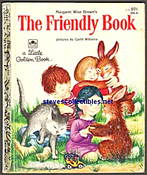 THE FRIENDLY BOOK - Little Golden Book - Garth Williams (Image1)
