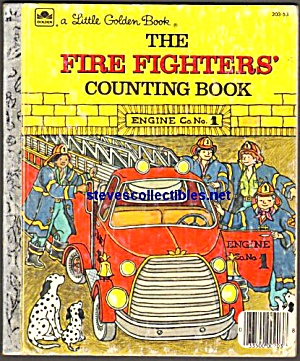 THE FIRE FIGHTERS COUNTING BOOK- Little Golden Book (Image1)