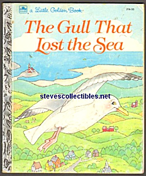 The Gull That Lost The Sea - Little Golden Book