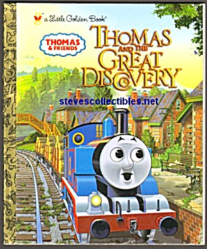 Thomas And The Great Discovery - Little Golden Book