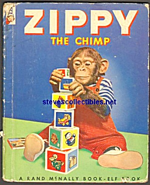 Zippy The Chimp Elf Book 1953