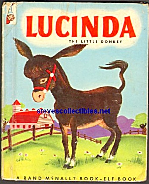 LUCINDA THE LITTLE DONKEY Elf Book 1952 (Image1)