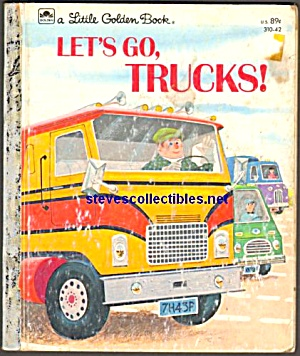 Let's Go, Trucks - Little Golden Activity Book